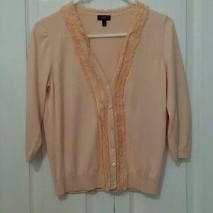 Talbots Silk/Cotton 3/4 Sleeve Sweater